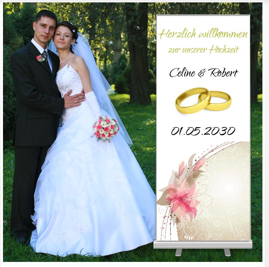 Begrüßung Hochzeit